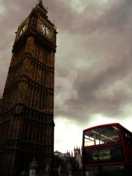 Dark Big Ben and Double Decker by AgtBauer24