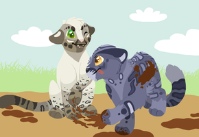 EBC: Mud Tag with Snowpuff by PancakeShiners