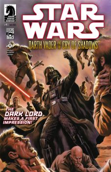 Darth Vader and the Cry of Shadows #1 by felipemassafera