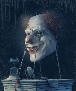 Are you afraid of clowns? by 25kartinok