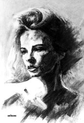 Charcoal portrait 0006 by AATheOne