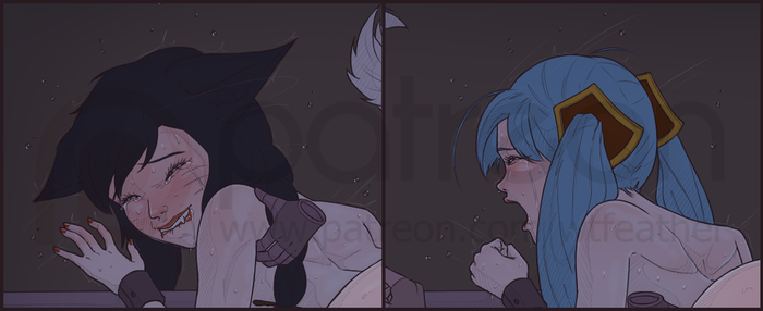 [Teaser] Patreon-exclusive picture! (October) by wtfeather