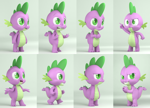 Spike - Character Study by IG-64