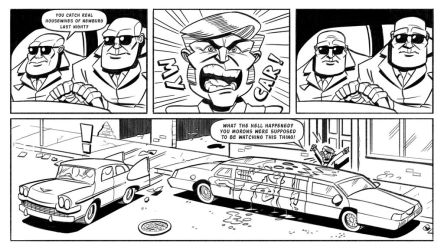 Booger and the Losers: Graffiti Pg5 by StickDinosaur