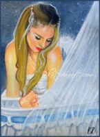 Cradle Of Love - ACEO by Katerina-Art