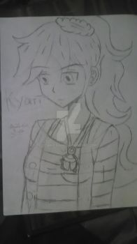 my yugioh oc kyari by Chika-Dark