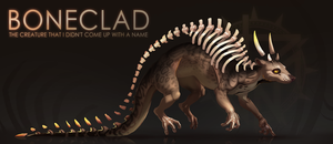 [CLOSED] Adopt auction - BONECLAD by quacknear