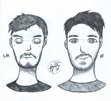 Sean and Mark by SpookyMuffin4545