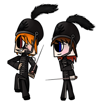Welcome to the Black Parade | Blue and LZ by LZGaMeR