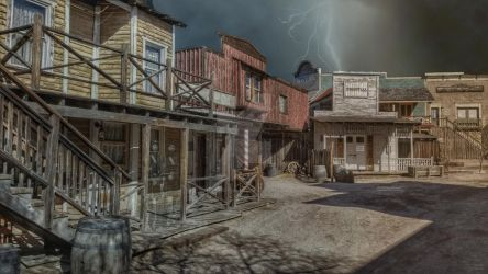 NightFall the Arizona Territory 1872 by PhotosbyRaVen
