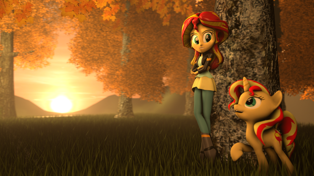 [SFM] A Sunset in Autumn by Jarg1994