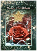 Vintage Christmas CARD by Lilyas