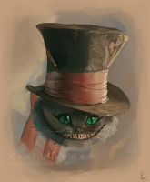 Tim Burton's Cheshire Cat by Miss-Madd