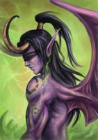 Illidan Stormrage by jellyxbat