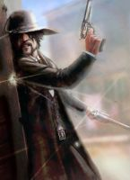 Tombstone Shootout by slaine69