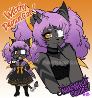 NekoWitch Series Adopt 01 [CLOSED] by PumpkinSugar