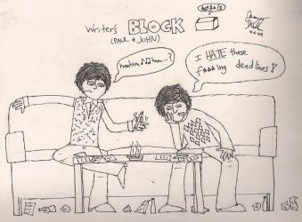 Beatles Writer's Block by beatlefan4ever