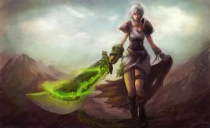 Riven Fan Art by Showmeyourmoves