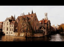 Brugge Historic Center by kamuidestiny