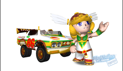 Valkyrie on Modnation Racers Road Trip by PacGuy765