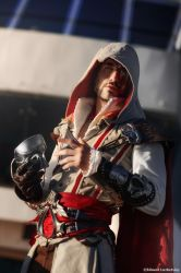 Ezio Auditore - Assassin's Creed 2  Cosplay Art by LeonChiroCosplayArt