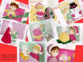 Christmas Cards set 2006 - 1 by dreamsaddict