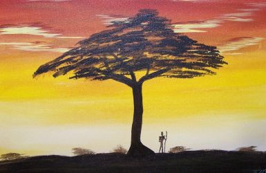 African Sunset by GentlestGiant