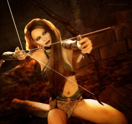 Mistress of The Bow by karibous-boutique