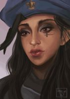 Ana Amari by CrashesIntoSpace