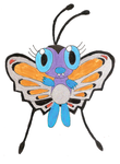 TPP Sun: Savvy Breezy, The Alolan Butterfree by EurekaTrollcat