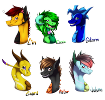 Gift Batch 2 by Frostii-Dragons