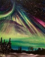 Northern Lights #5 by knezak