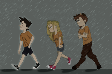 Percy Jackson by LanxiArts
