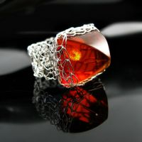 Faux amber ring #2 by CatsWire