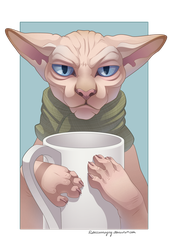Gimme Caffine by Rebeccannoying