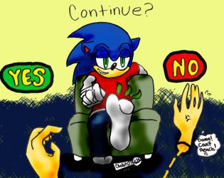 Sonic's Foot Massage by Chobits13
