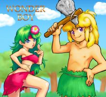 WONDER BOY by kamiomutsu