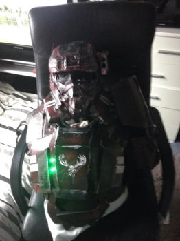 Halo reach eod chest and helmet  by mombo240