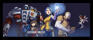 KickAss gang by Silvershodan