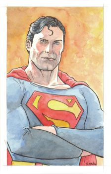 Superman Watercolor... by ssava