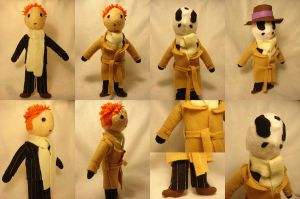 Rorschach plushie 2.0 by reluctantdisaster
