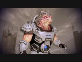 Mass Effect 2 Grunt by Homicide-Crabs
