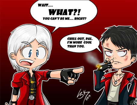 Dante's new look by Locke3K