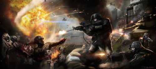 WWZ - The Battle of Yonkers - by DanLuVisiArt