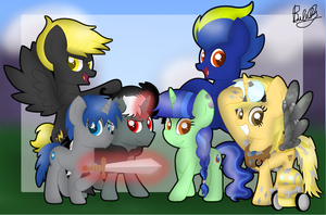 [C] All Together by Bubbly-Storm