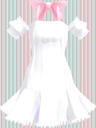 MMD White summer dress Download by 9844