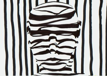 old work faces zebra by manoatari