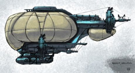 Airship by Chromiumg