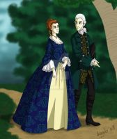 Lord and Lady Beckett by cardinalbiggles