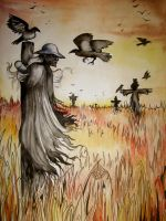 The scarecrow by NightFlame666